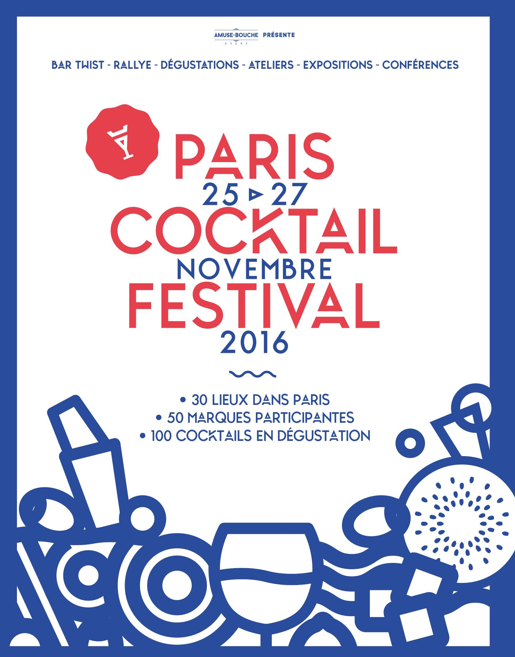 Paris cocktail festival